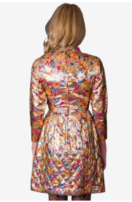Brocade Dress - virtual