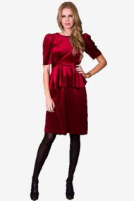 Velveteen Dress - grouped